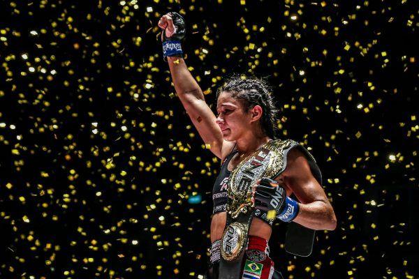 New ONE Atomweight Muay Thai World Champion Allycia Hellen Rodrigues