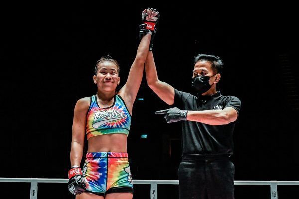 Muay Thai fighter Wondergirl Fairtex wins at ONE: A NEW BREED