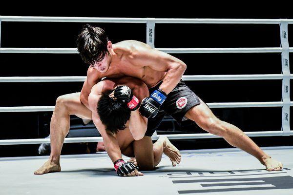 Australian mixed martial artist Brogan Stewart-Ng