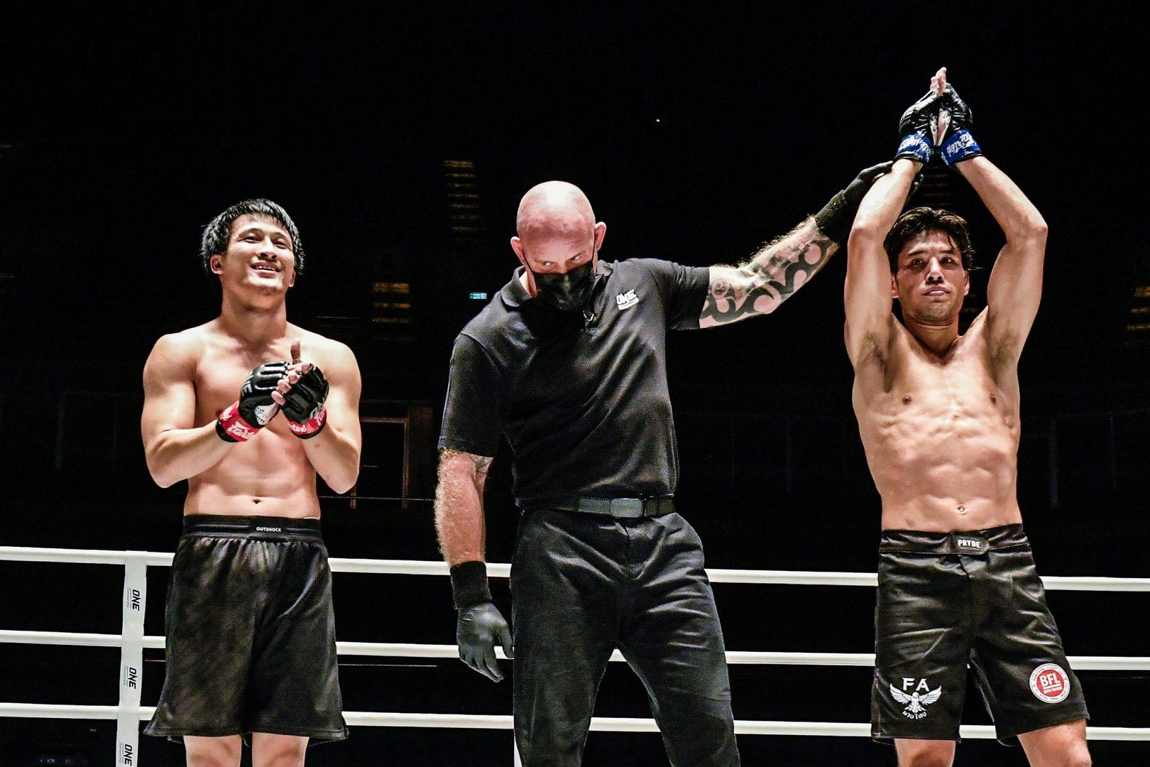 Australian star Brogan Stewart-Ng wins his mixed martial arts debut