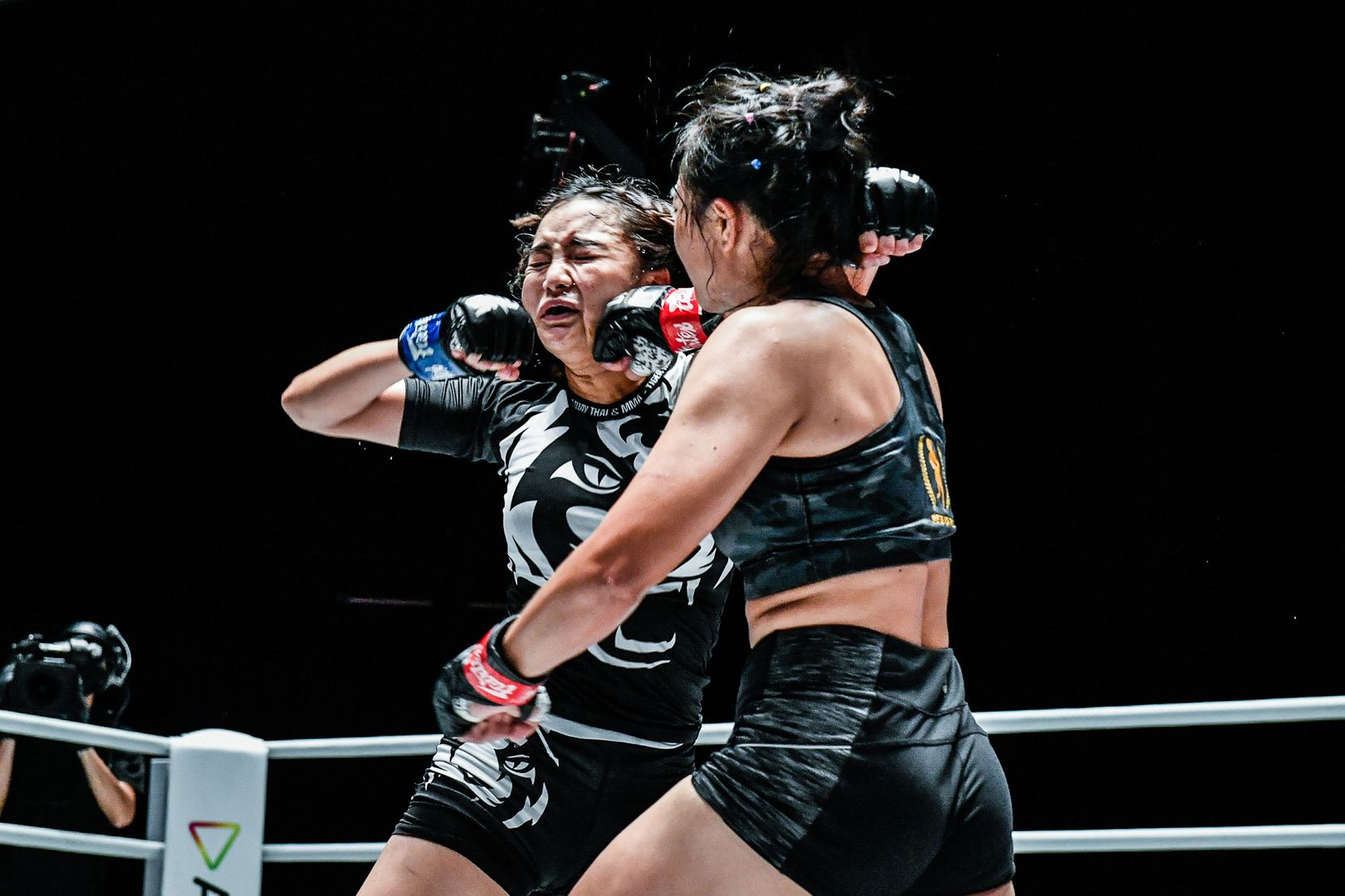 Thai mixed martial artists Sunisa Srisen and Rika Ishige do battle