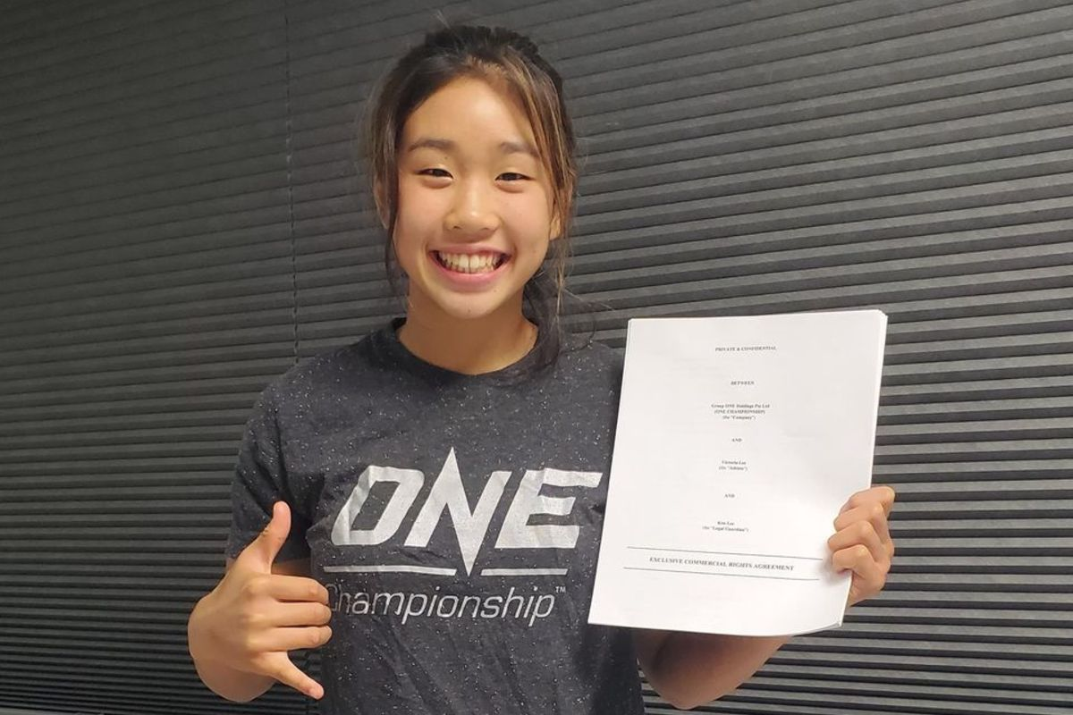 Angela and Christian Lee's sister, Victoria, signs with ONE Championship