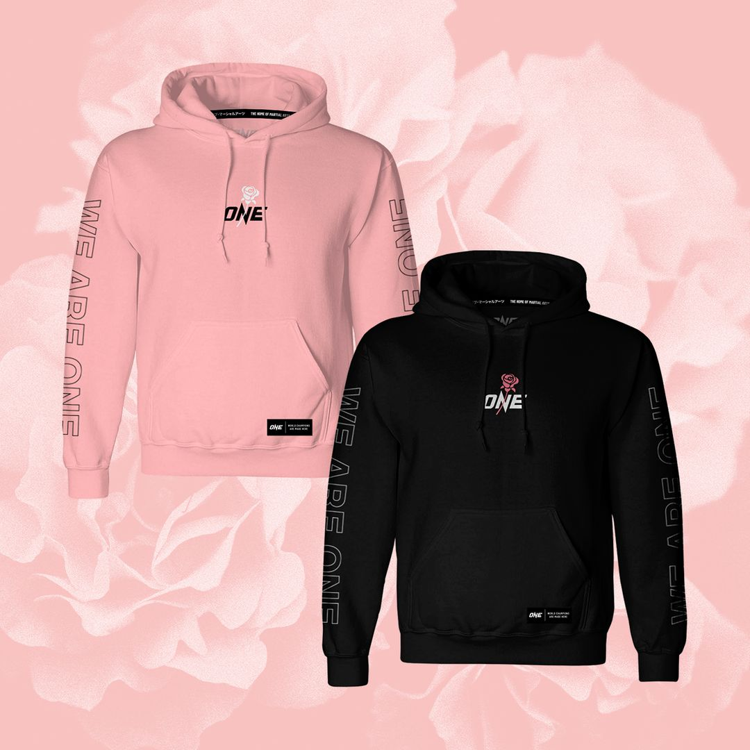 ONE.SHOP Breast Cancer Awareness Month hoodies