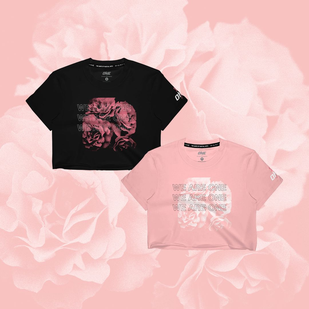 ONE.SHOP Breast Cancer Awareness Month crop tops