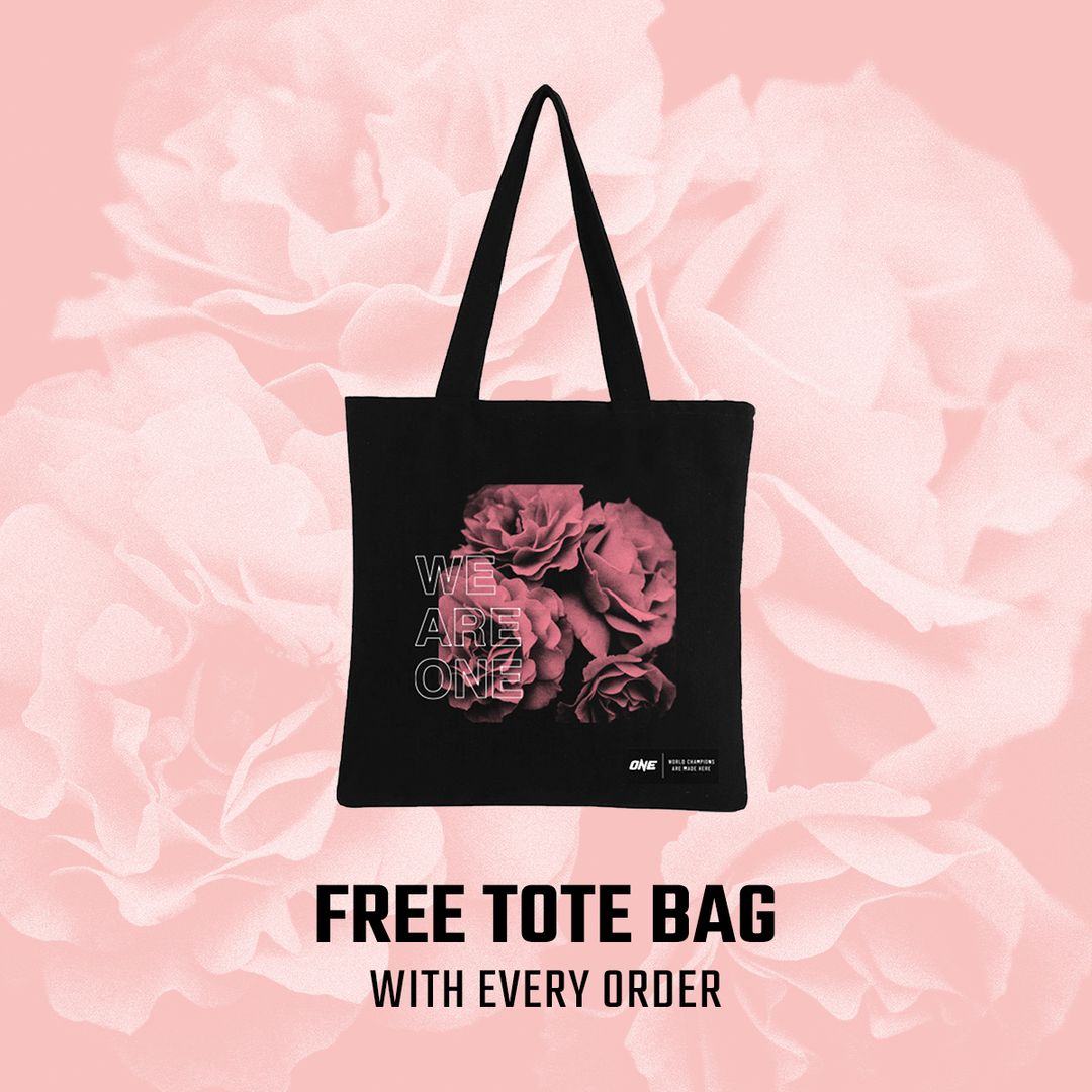ONE.SHOP Breast Cancer Awareness Month tote bag