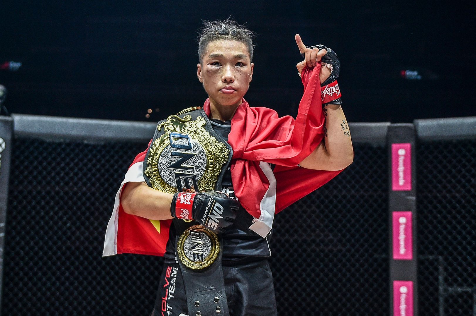 Xiong Jing Nan fights Tiffany Teo in a ONE Women's Strawweight World Title rematch at ONE: INSIDE THE MATRIX on Friday, 30 October