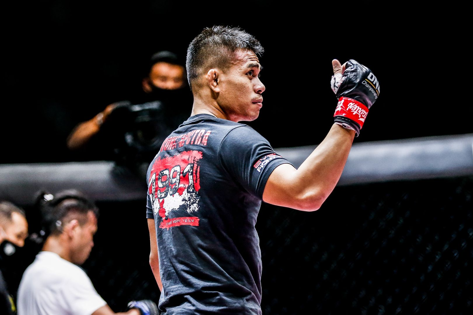 Indonesia MMA star Eko Roni Saputra fights Ramon Gonzales at ONE: INSIDE THE MATRIX II in Singapore