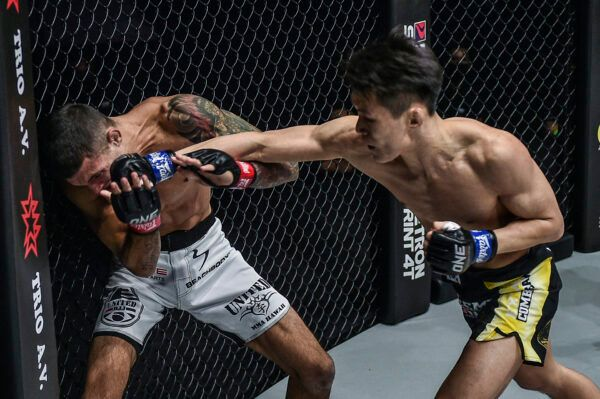South Korean MMA star Kwon Won Il fights Brazilian athlete Bruno Pucci at ONE: INSIDE THE MATRIX IV