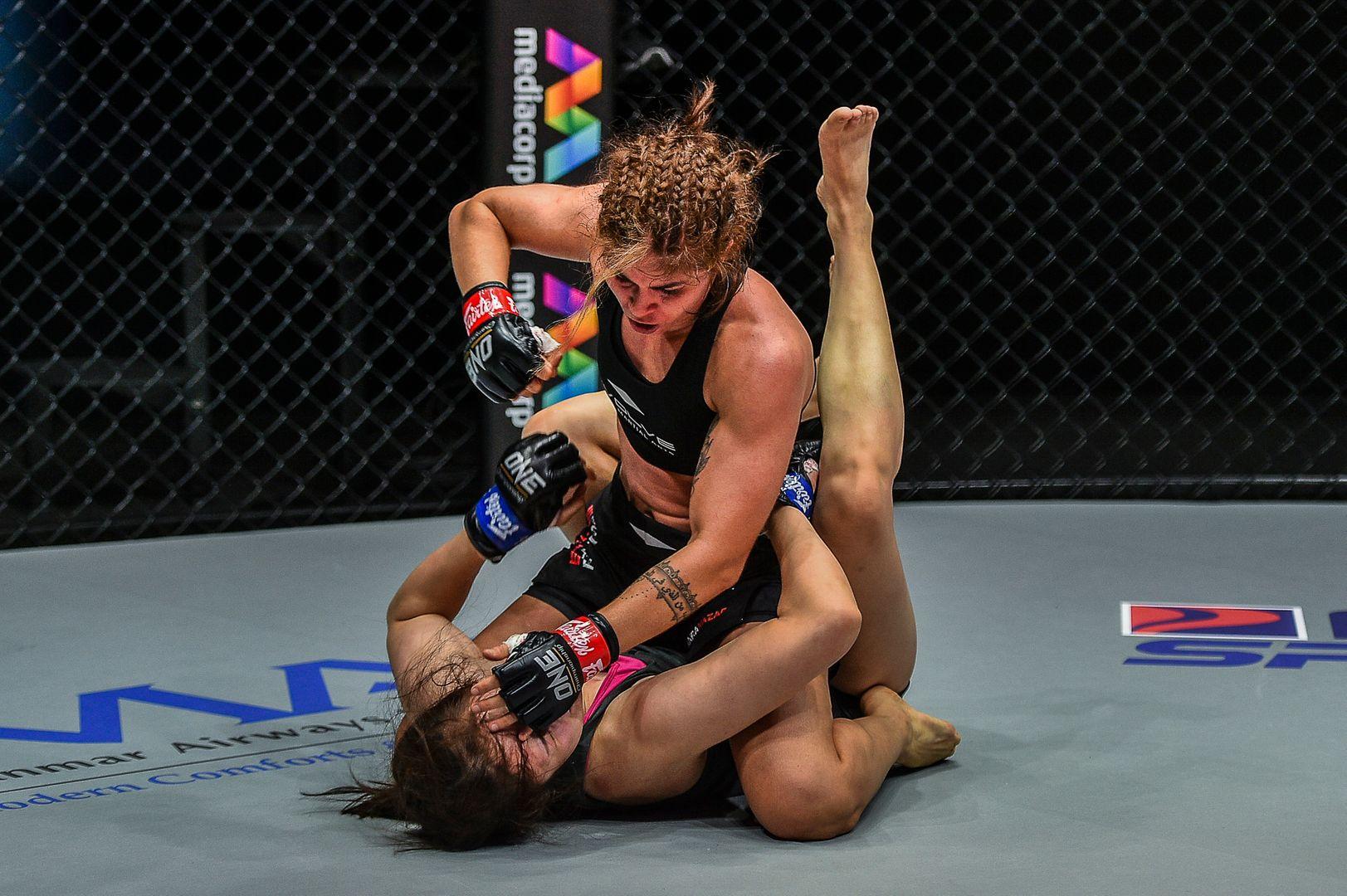 Brazilian MMA star Maira Mazar fights South Korean knockout artist Choi Jeong Yun at ONE: INSIDE THE MATRIX IV