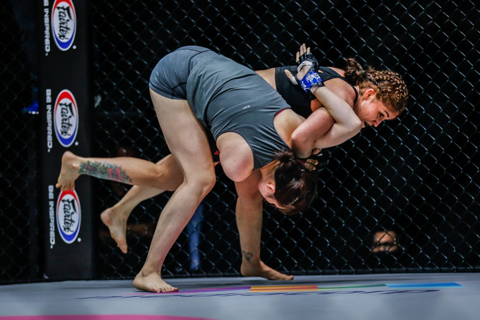 Maira Mazar takes down Jung Yoon Choi. ONE: Inside the Matrix 4 results.