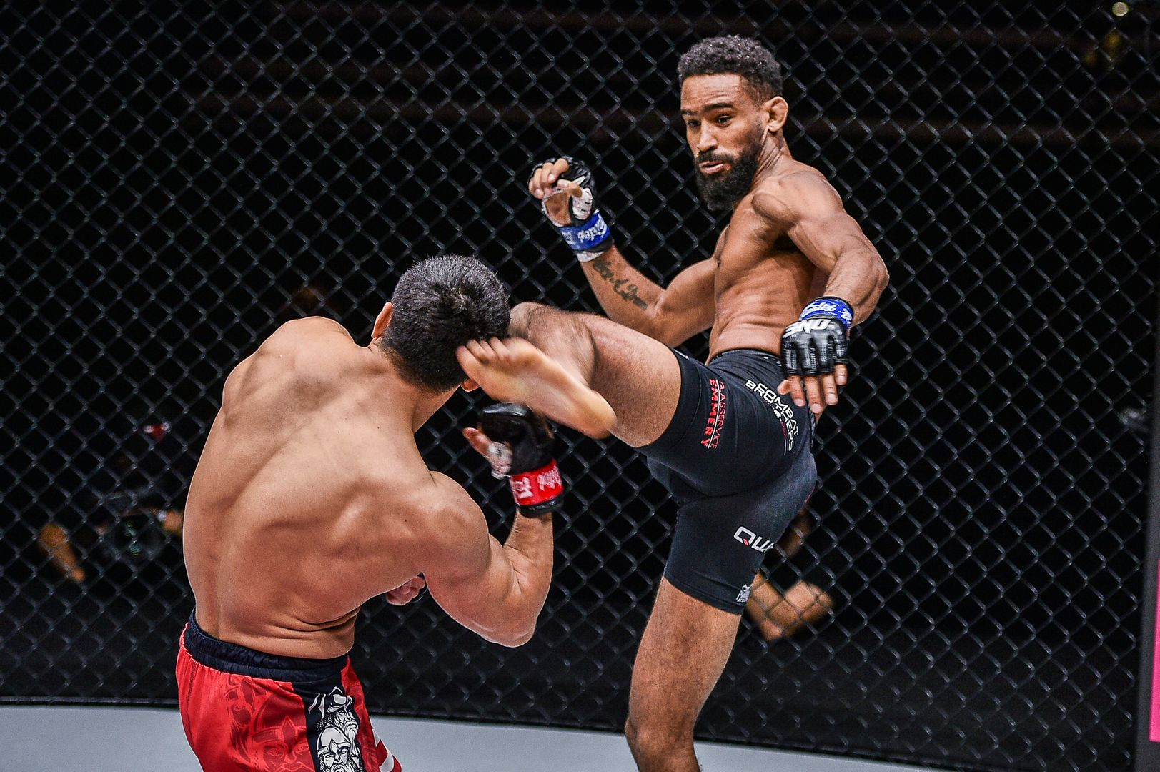 Russian MMA star Timofey Nastyukhin fights Dutch kickboxing Pieter Buist at ONE: INSIDE THE MATRIX II in Singapore