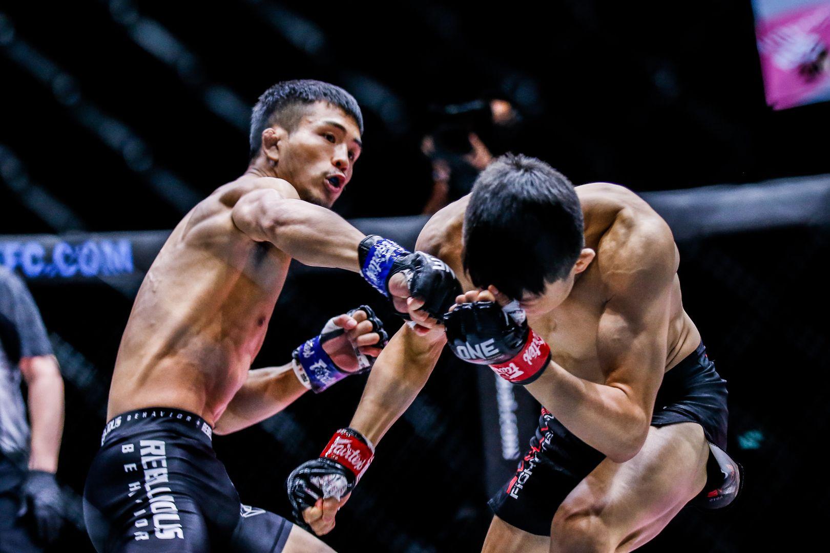 Japanese MMA star Yuya Wakamatsu fights South Korean phenom Kim Kyu Sung at ONE: INSIDE THE MATRIX II in Singapore