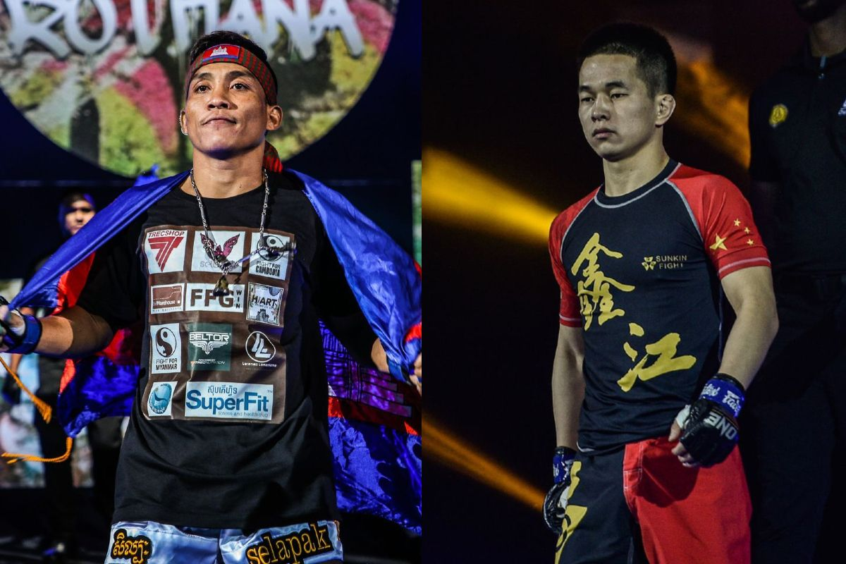 Asian MMA stars Chan Rothana and Xie Wei fight at ONE: COLLISION COURSE on 18 December!