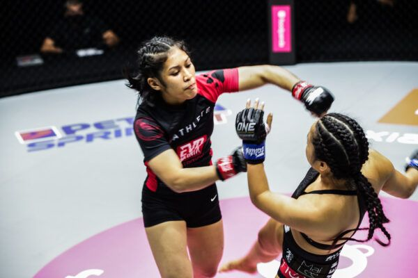 MMA stars Jihin Radzuan and Bi Nguyen fight at ONE: BIG BANG in Singapore