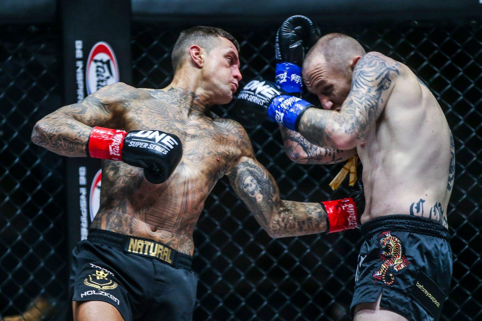 Dutch kickboxing legend Nieky Holzken fights Australian star Elliot Compton at ONE: BIG BANG II in December 2020