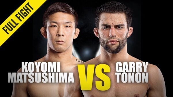 MMA stars Garry Tonon and Koyomi Matsushima fight at ONE: BIG BANG