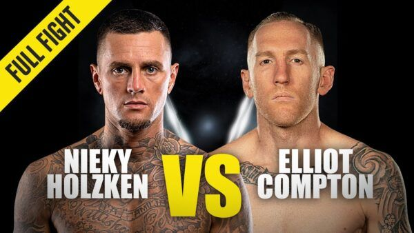 Dutch kickboxing legend Nieky Holzken fights Australian star Elliot Compton at ONE: BIG BANG II in December 2020