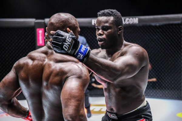 "MMA heavyweight stars ""Reug Reug"" Oumar Kane and Alain Ngalani fight at ONE: UNBREAKABLE II"