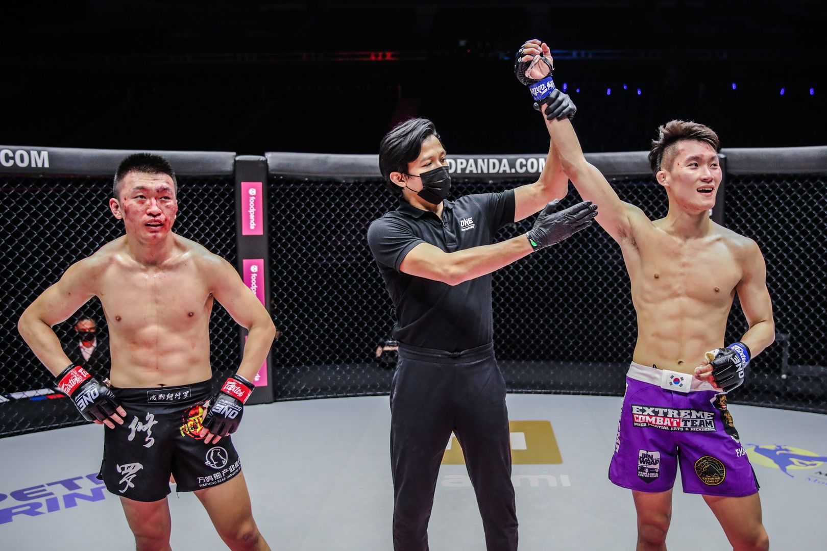 MMA fighters Chen Rui and Kwon Won Il compete at ONE: UNBREAKABLE II in January 2021