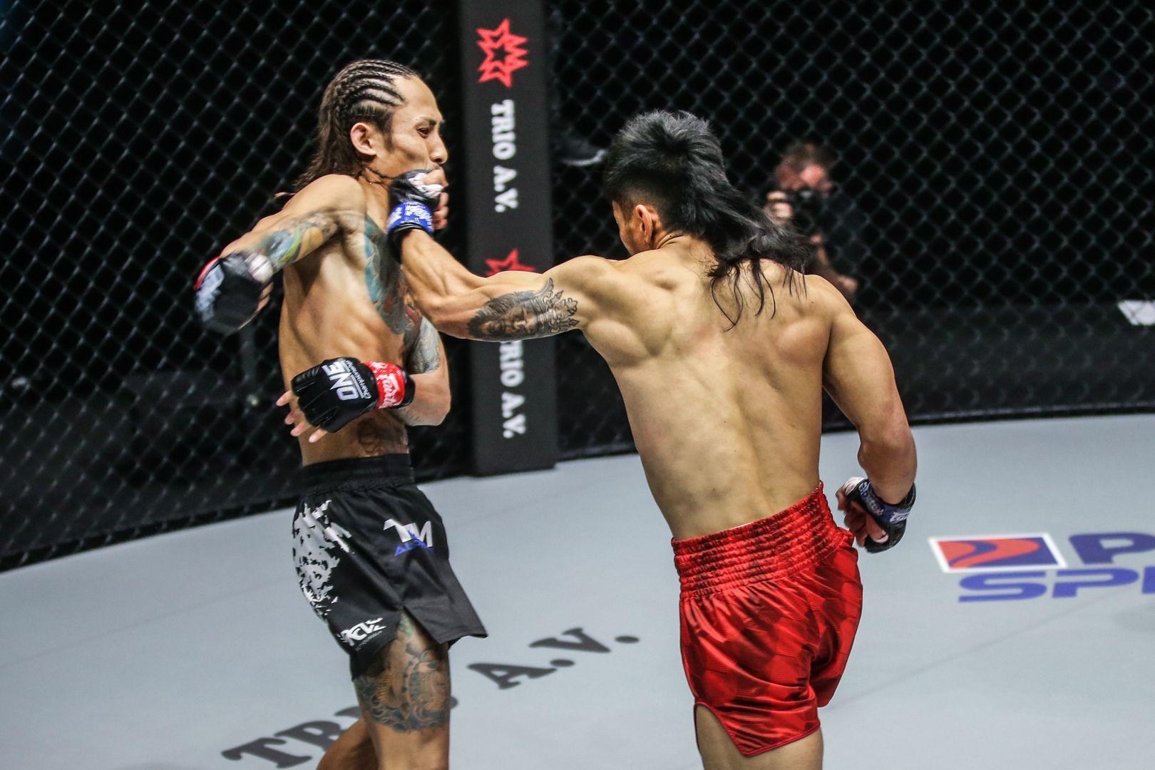Filipino MMA fighter Lito Adiwang knocks out Namiki Kawahara at ONE: UNBREAKABLE