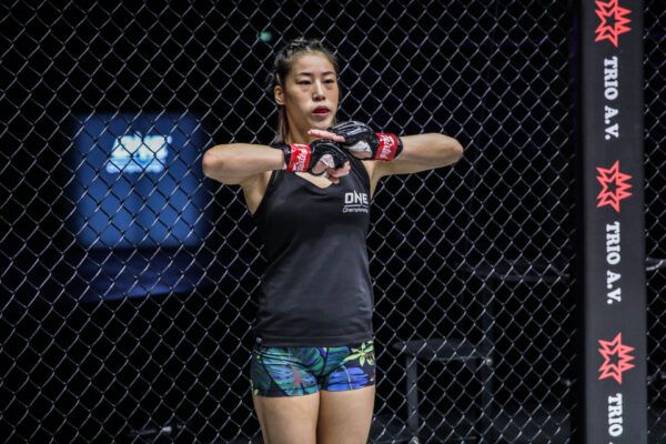 Chinese MMA star Meng Bo prepares to fight