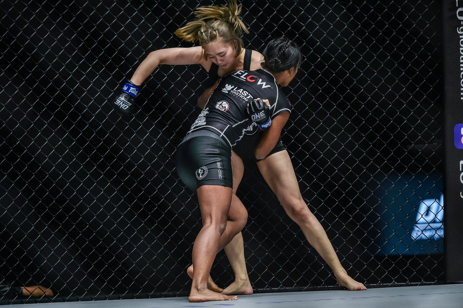 MMA fighters Sovannahry Em and Choi Jeong Yun compete at ONE: UNBREAKABLE II in January 2021