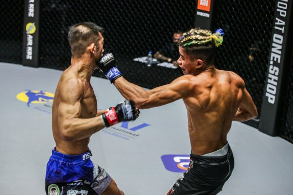 MMA fighters Shoko Sato and Fabricio Andrade compete at ONE: UNBREAKABLE III on 5 February 2021