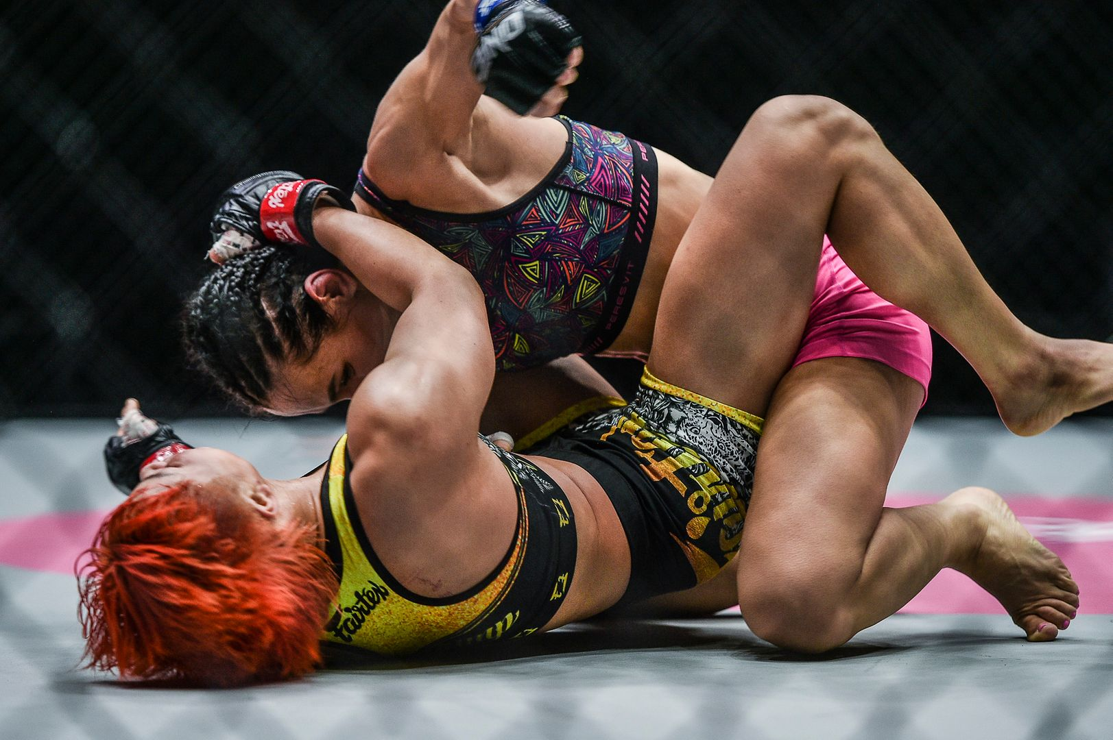 Photos from Stamp Fairtex and Alyona Rassohyna's MMA fight at ONE: UNBREAKABLE III on 5 February 2021