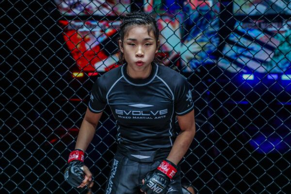 SIngaporean-American MMA fighter Victoria Lee gets ready to make her debut