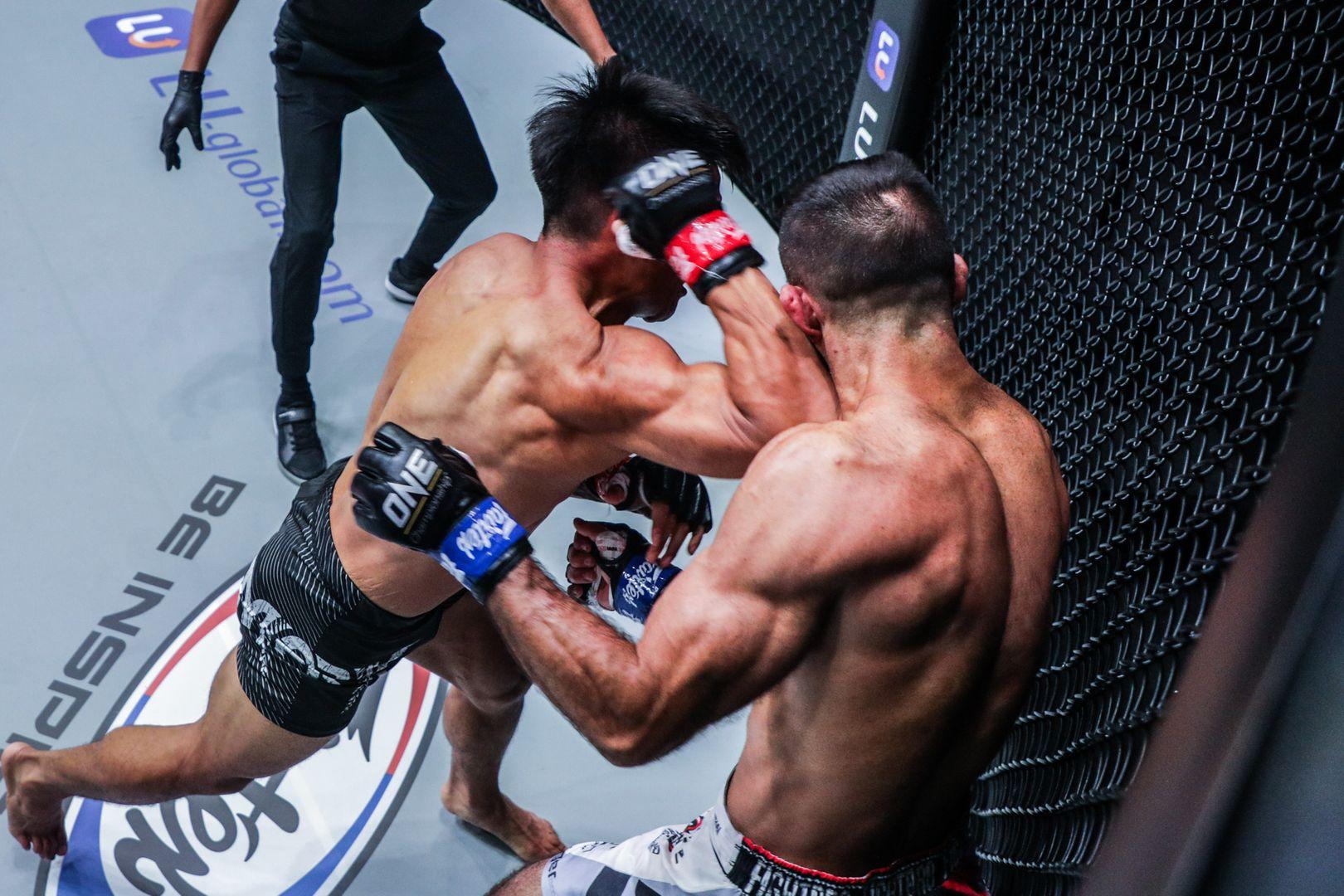 MMA fight: Mark Fairtex Abelardo fights Emilio Urrutia at ONE: FISTS OF FURY II