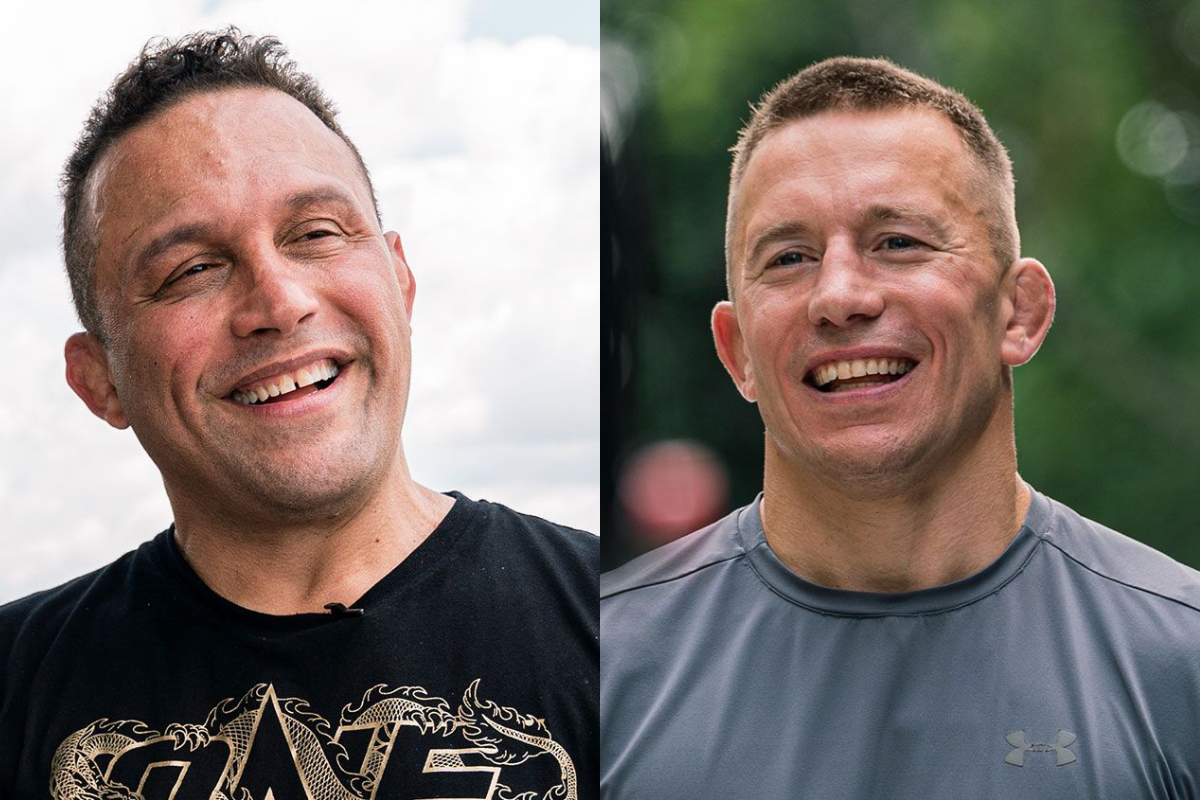 Georges St. Pierre and Renzo Gracie