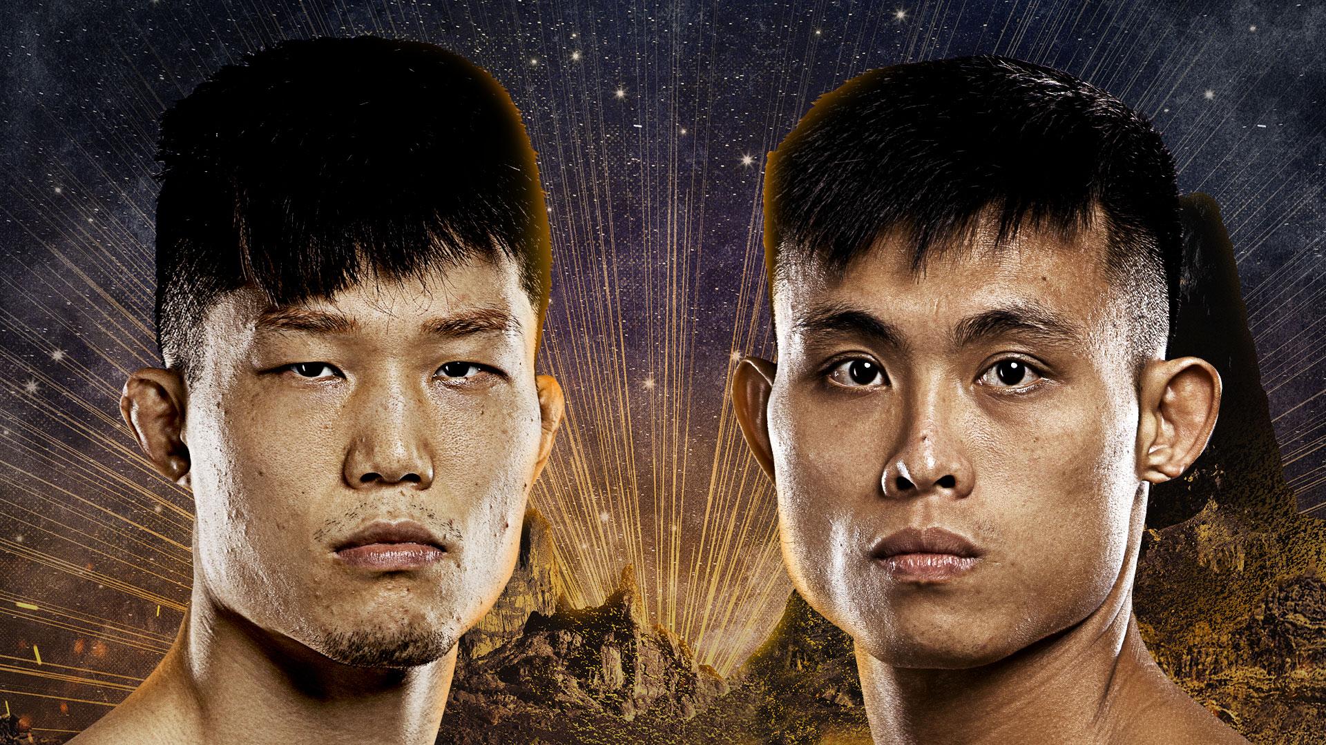"Kim Kyu Sung fights Wang Shuo at ""ONE on TNT II"""