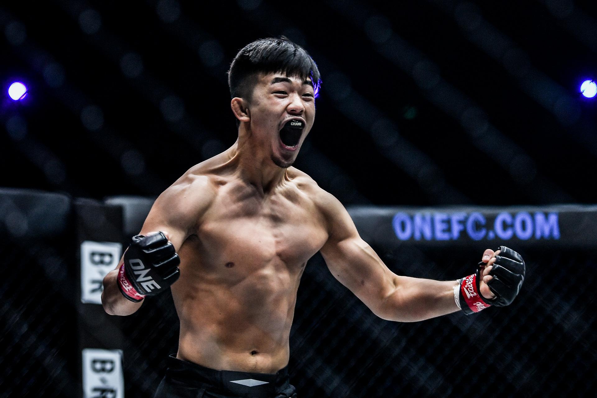 "MMA stars Christian Lee and TImofey Nastyukhin fight at ""ONE on TNT II"""