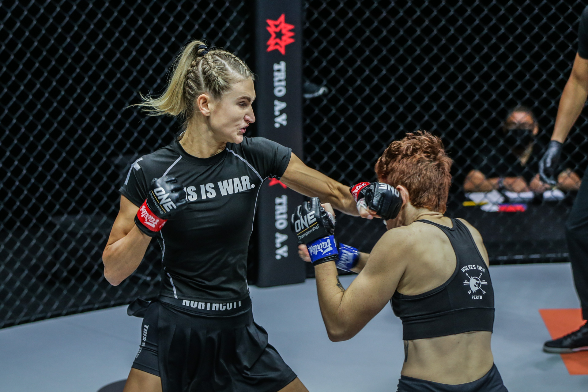 """Pictures from the fight between Colbey Northcutt and Courtney Martin at """"ONE on TNT IV"""""""