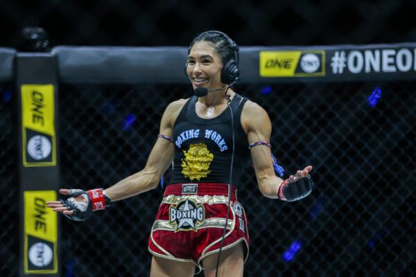 "Muay Thai star Janet Todd fights Anne Line Hogstad at ""ONE on TNT II"""