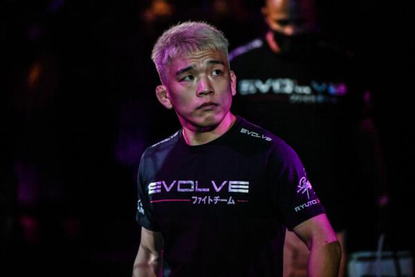 Japanese MMA fighter Ryuto Sawada enters the Singapore Indoor Stadium