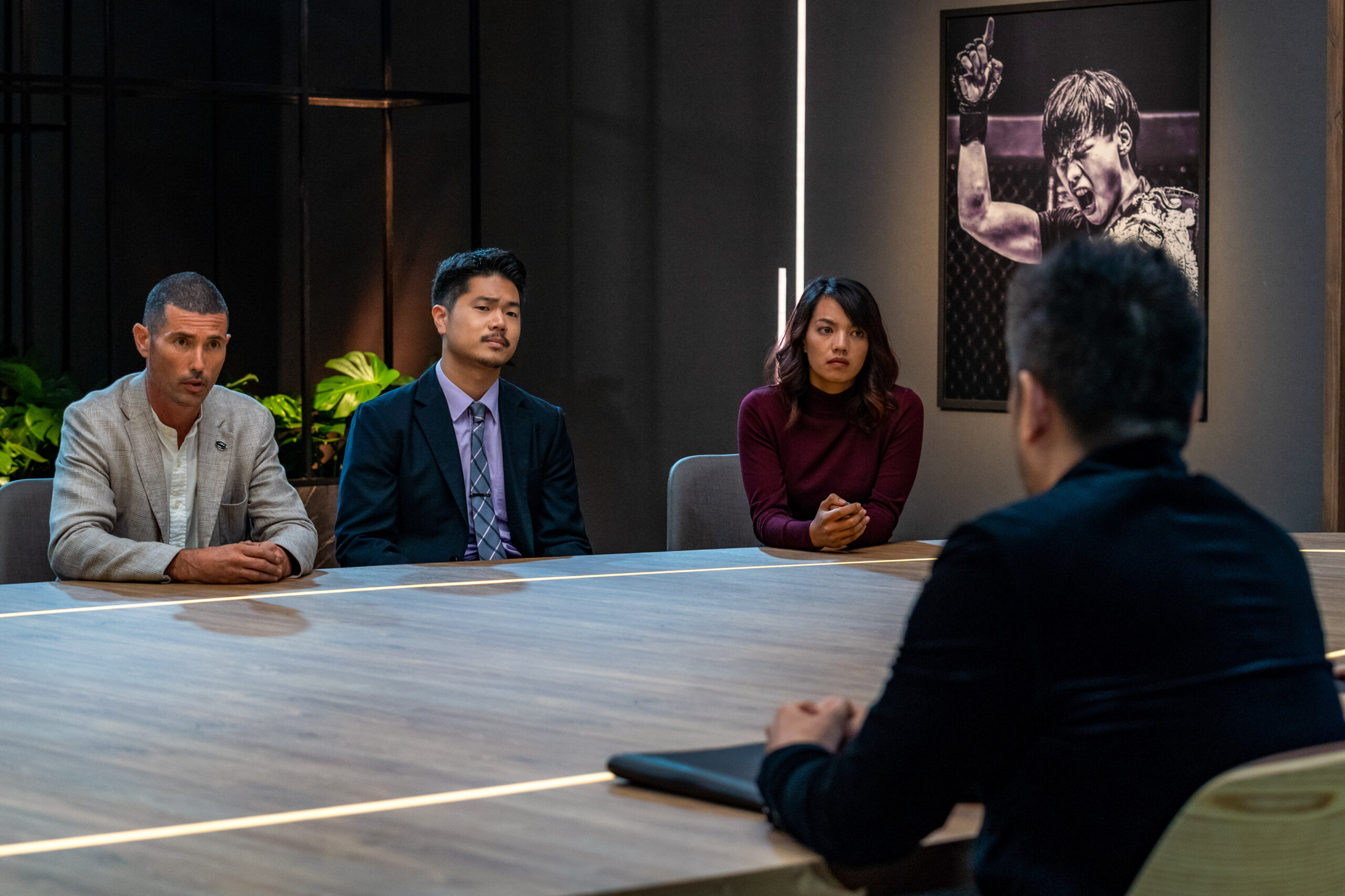 """Scenes from Episode 3 of """"The Apprentice: ONE Championship Edition"""""""