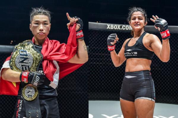 Xiong Jing Nan and Ritu Phogat