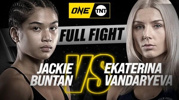 Full fight: Jackie Buntan vs. Ekaterina Vandaryeva