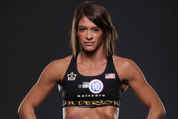 American MMA fighter Alyse Anderson is ready to make her debut