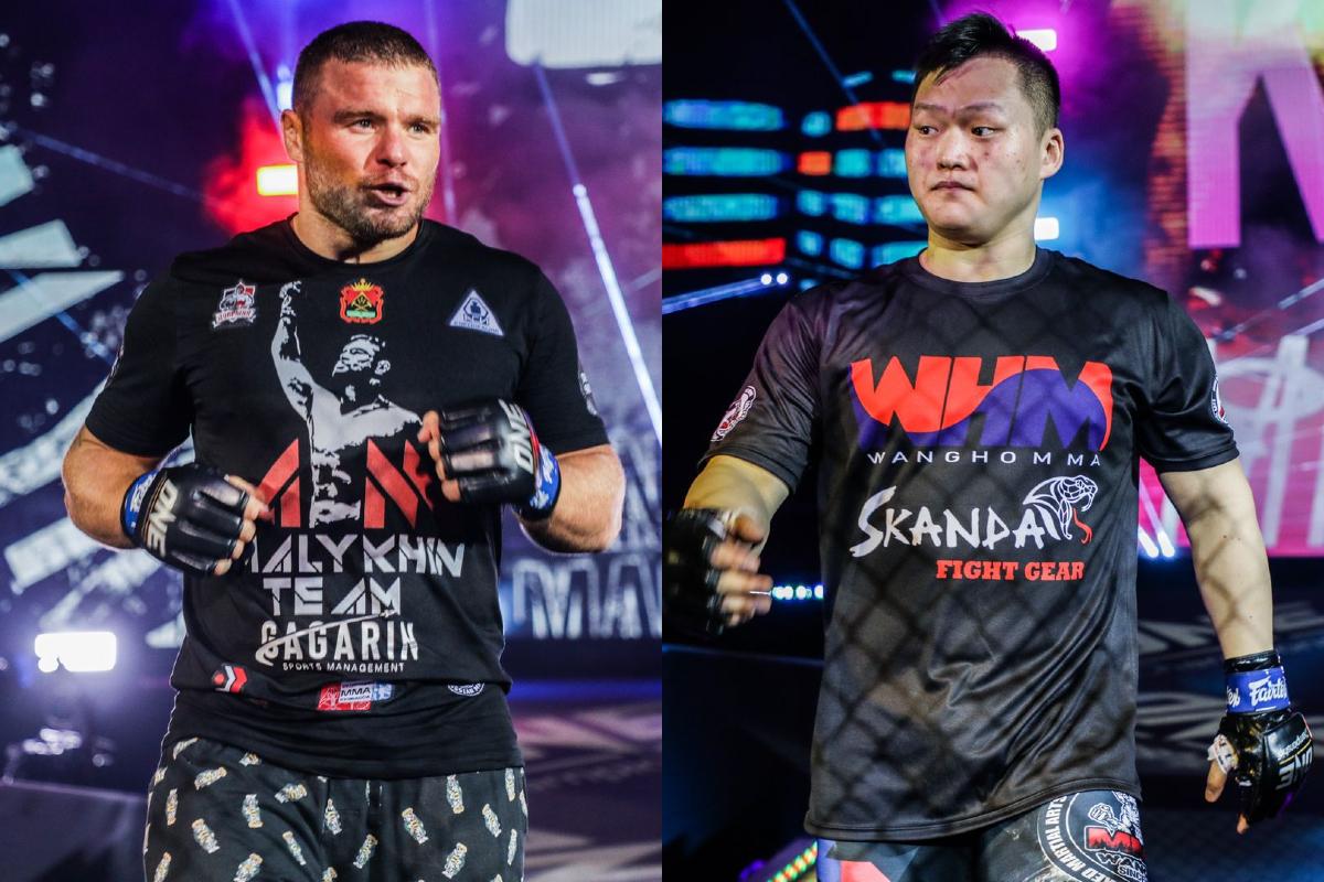 Anatoly Malykhin and Kang Ji Won