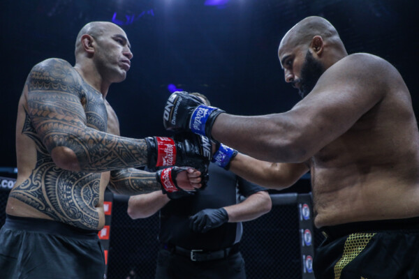 Scenes from the ONE Heavyweight World Title fight between Arjan Bhullar and Brandon Vera at ONE: DANGAL on 15 May