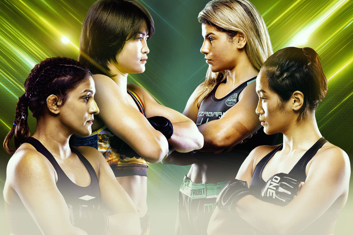 These four MMA fighters throw down in the ONE Women's Atomweight World Grand Prix semifinals