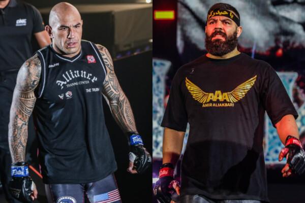 MMA heavyweight fighters Brandon Vera and Amir Aliakbari