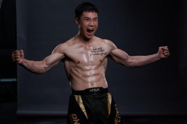 Chinese kickboxing superstar Qiu Jianliang