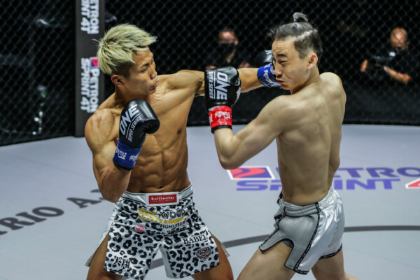 Pictures from the Wang Wenfeng vs. Taiki Naito kickboxing fight at ONE: FULL BLAST II