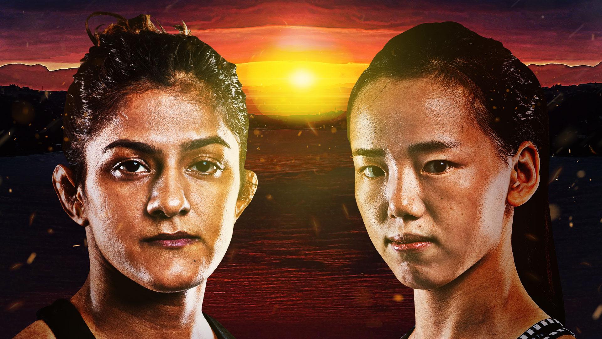 Ritu Phogat and Lin Heqin meet at ONE: BATTLEGROUND on 30 July