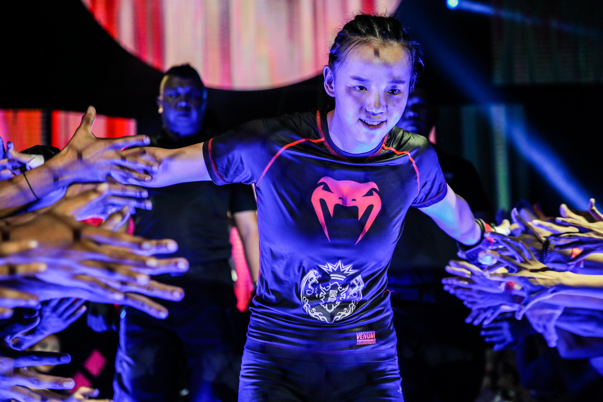 """""""MMA Sister"""" Lin Heqin enters the arena"""