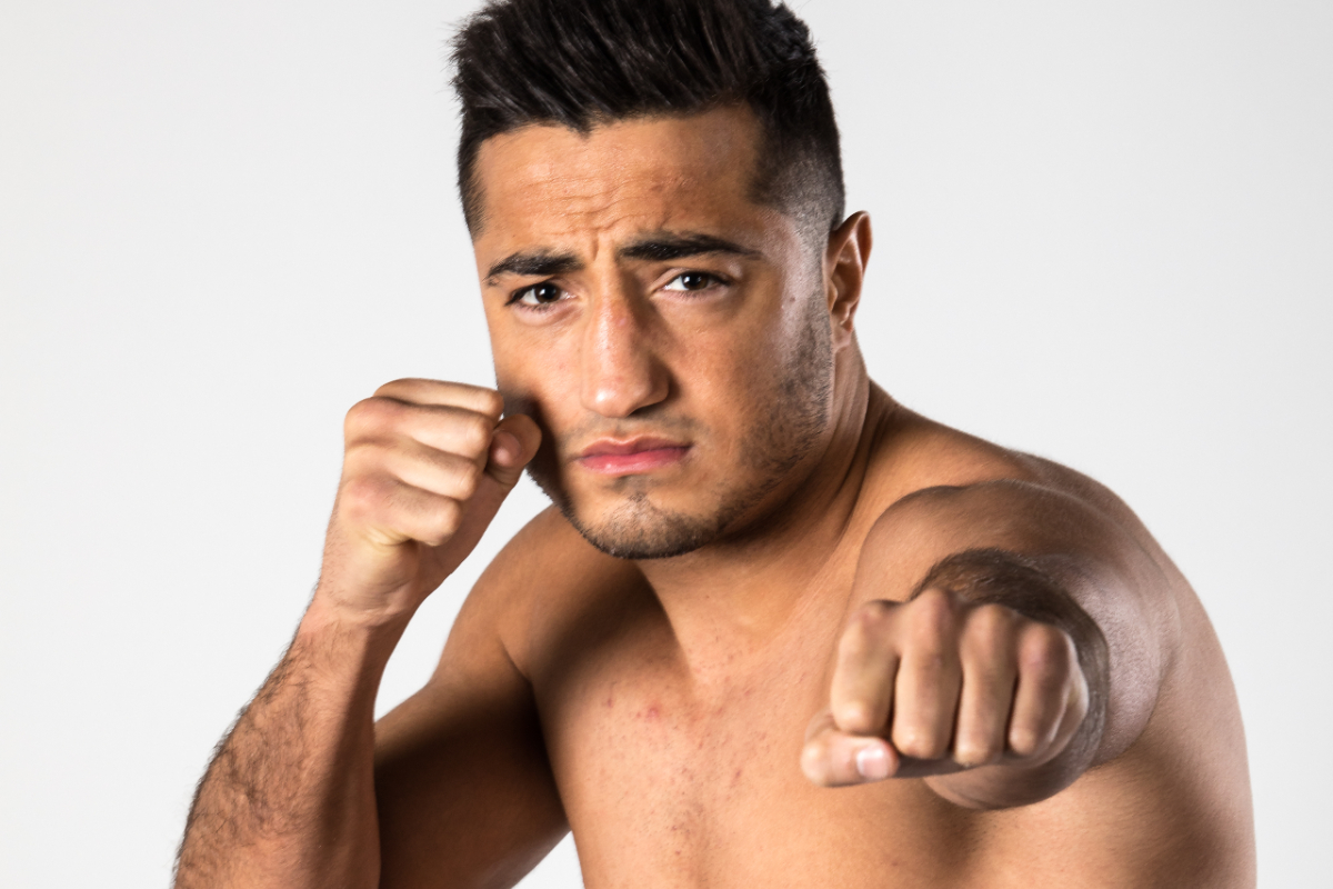 Turkish-Dutch kickboxer Tayfun Ozcan