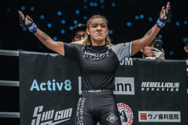 Japanese MMA fighter Itsuki Hirata welcomes her next challenge